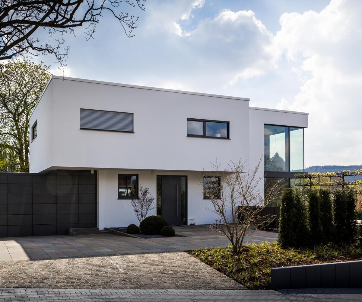 Erstaunlich Vorgartengestaltung Modern Beste Wahl Moderne Unter Verwendung Von Naturstein